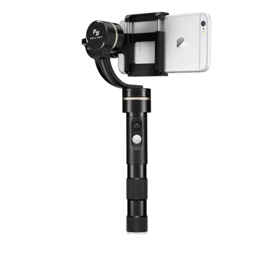 Feiyu Tech G4 Pro 3-Axis Handheld Stabilized Gimbal for iPhone, Android & other Smartphones