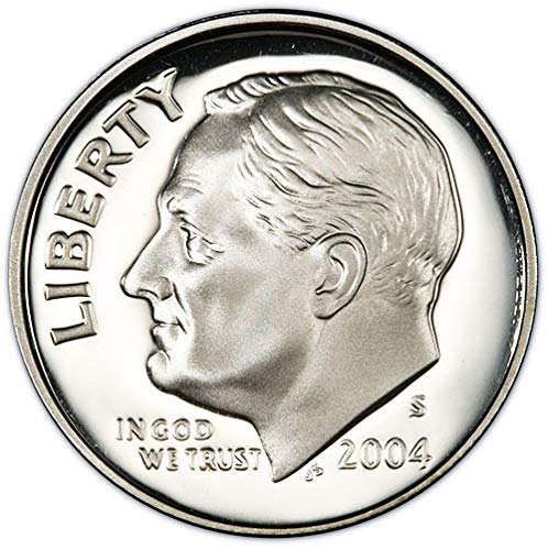 2004-S PCGS PR69DCAM proof Roosevelt dime SILVER