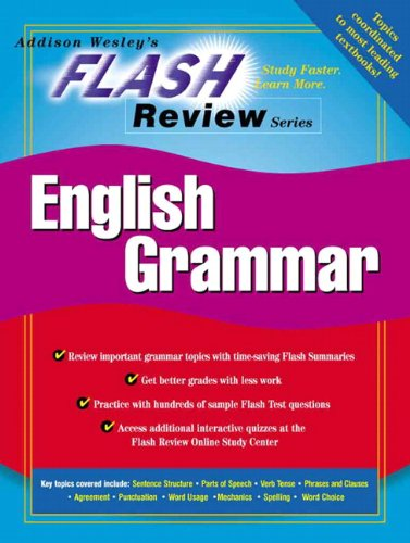 Flash Review for Introduction to English Grammar