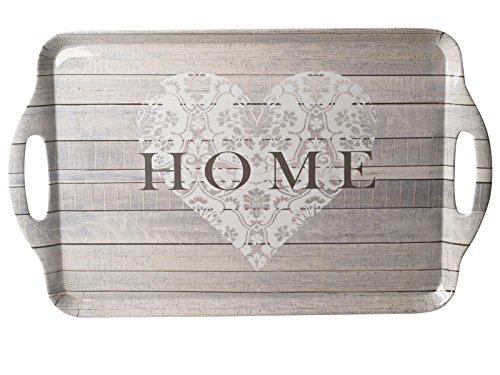 Creative Tops Everyday Home Tablett, groß, grau