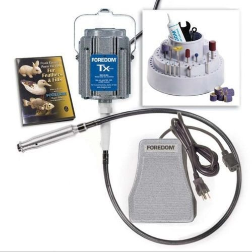 - Foredom K.5401 Deluxe Woodcarving Kit TX 300 - TXMotor, SXR Control and Mamh-1 (U)