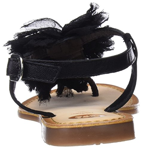 Gioseppo Sandalias de punta abiertas mujer 45269 con abierta negras para gf1qg