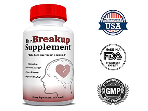 The Breakup Supplement™ – The All-Natural Dietary Supplement for Reduced Stress, Enhanced Moods, and Cognitive Health for People Dealing with Divorce, Separation, and Heartbreak