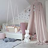 Kicode Kids Children Baby Bedding Round Dome Bed Canopy Netting Bedcover Mosquito Net Curtain Decor