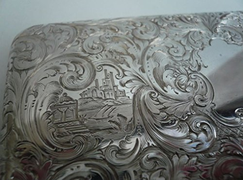 Buy vintage silver snuff box