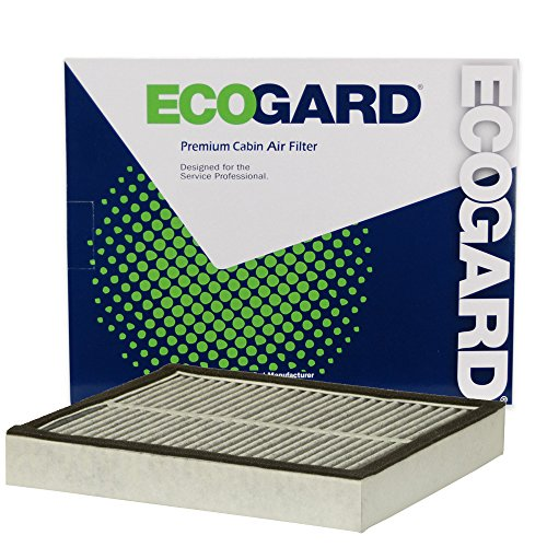 ECOGARD XC10577C Cabin Air Filter with Activated Carbon Odor Eliminator - Premium Replacement Fits Infiniti Q50, Q60, QX70
