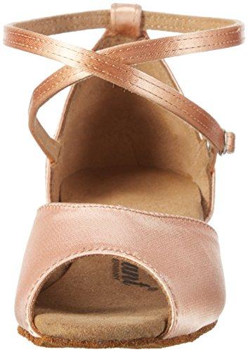 Diamant Mädchen Tanzschuhe 022-030-094, Zapatos de Tacón para Niñas, Beige, 40 EU