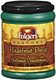 Folgers Hazelnut Decaf Coffee, 11.5 Ounce