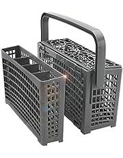 Universal Dishwasher Silverware Replacement Basket - Utensil/Cutlery Basket - Compatible with Bosch, Maytag, Kenmore, Whirlpool, KitchenAid, LG, Samsung, Frigidaire, GE