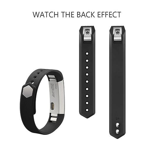 Amazoncom  Vancle Fitbit Alta Bands Newest Adjustable