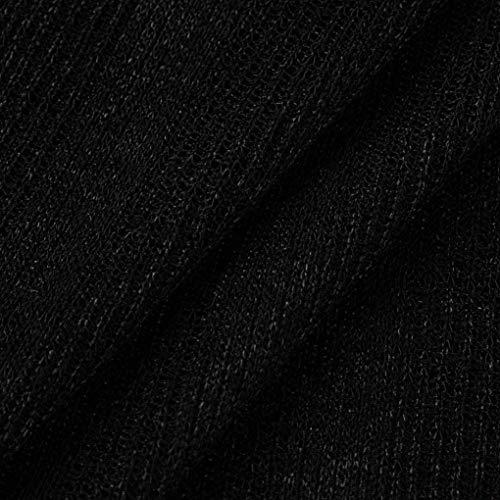 Pullover Camicetta Camicia Ragazze Maniche Puro Schwarz Lunga Shoulder Lunga off Eleganti Autunno Morbidi Pullover Bluse Abiti Lunghe Comodo Doona Colore Giovane Primaverile FcF4TrU