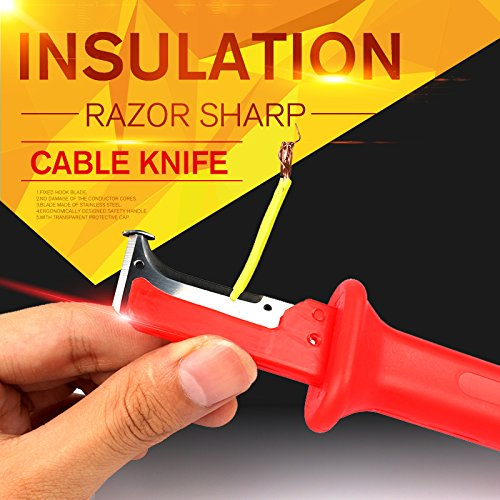 LOCHI 1pc Stripping Cutter Cable Electrical Insulation Stripping Knife Wire Stripper Electrician Hand Tools NEW PRODUCT