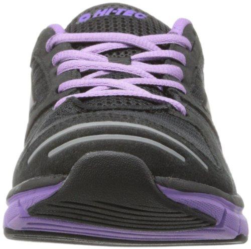 Salut-tec Womens Haraka Casual Chaussure Noir / Violet
