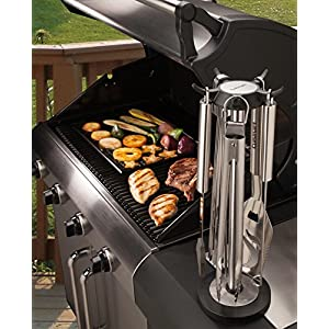 Cuisinart CGS-6010 Carousel Stainless Steel Grill Tool Set (10-Piece)