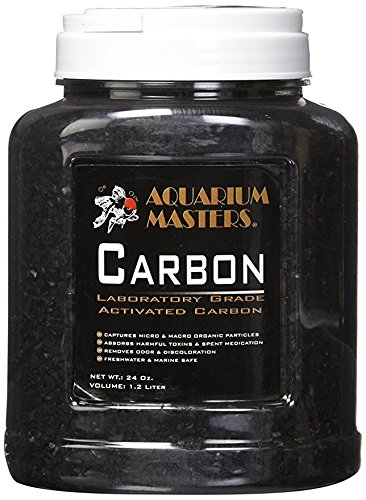 Blue Spotted 24 OZ/1.2 Liter Laboratory Grade Activated Carbon - Freshwater and Marine Safe