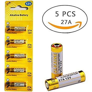 27A 12V Alkaline Battery (5-pack)