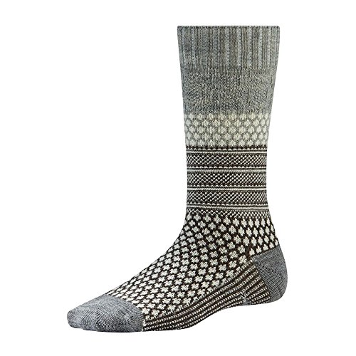 Smartwool Women's Popcorn Cable,Ash Heather,US S (Womens Smartwool Socks Cable)