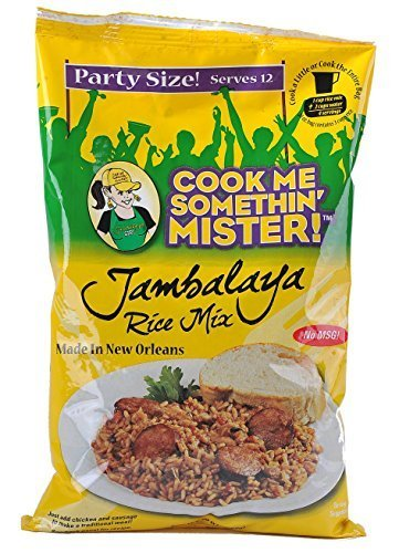 Cook Me Somethin Mister Party Size Jambalaya Rice Mix 2- 20oz. by Cook Me Somethin' Mister