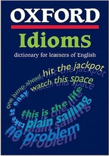 english idioms dictionary