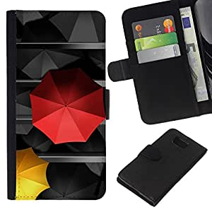 All Phone Most Case / Oferta Especial Cáscara Funda de cuero Monedero Cubierta de proteccion Caso / Wallet Case for Samsung ALPHA G850 // Umbrella Love Special Different Love