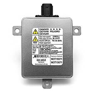 Acura Mazda Mitsubishi Xenon HID Ballast Headlight Control Unit Assembly Module Replaces W3T19371, W3T15671 and W3T13072