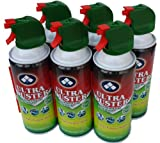 air duster spray - Ultra Duster Canned Air Net 10 Oz 6-Pack