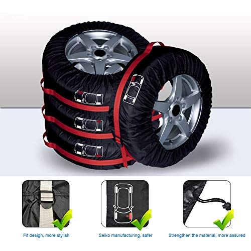 LoLa Ling Car Vehicle Spare Tire Cover Protection Protector Auto Portable Durable Storage Bag by LoLa Ling (Image #5)