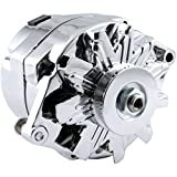 alternator gm - New High Output 110 AMP Alternator Chrome 1 Wire, Self Exciting, Replaces GM Chevy 10 SI 10SI DELCO BBC SBC