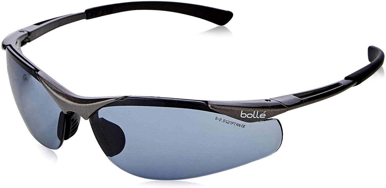 Bolle Safety CONTPSF Contour - Gafas protectoras, Gris (Smoke)