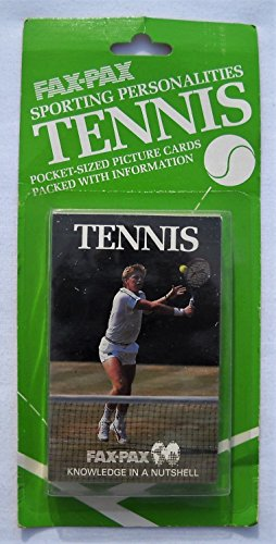 Fax Pax Tennis Card Set (38 Cards), Factory Sealed (Tennis Card Set)
