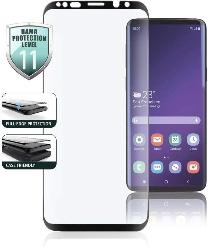 Hama Full Screen 3d Schutzglas Für Samsung Galaxy S10e Schwarz Elektronik