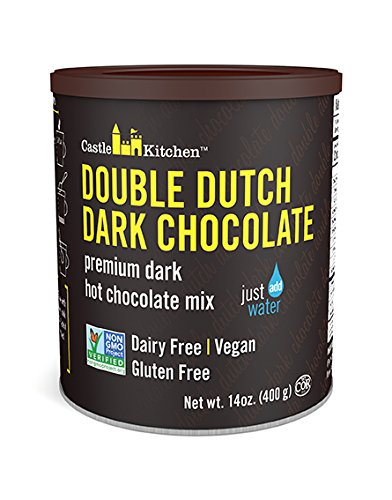- Double Dutch Dark Hot Chocolate Premium Hot Chocolate, 14 oz