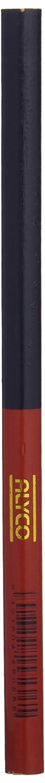 Alyco 149055 Profi-Holzbleistifte fü r Bau, mit 2 Farben Blau-Rot, 175 mm