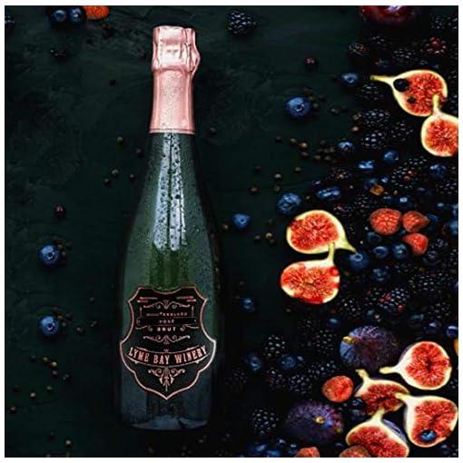 51csMEVnr3L Lyme-Bay-Winery-Premium-Rose-Sparkling-Brut-English-Sparkling-Wine-750-ml-Gift-Set-with-2-Spiegelau-Fizz-Glasses-Gift-Box