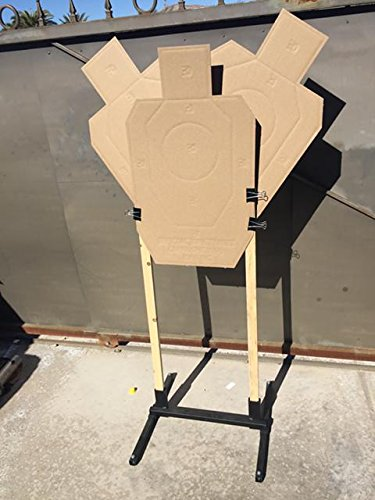 Collapsible Target Stand - Target Stand Shooting Holder Base USPSA IPSC IDPA-3 Gun Steel Made In USA Metal Steel Hunting Practise
