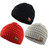 Durio Soft Warm Knitted Baby Hats Caps Cute...