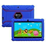 Contixo 7-Inch 8GB Kids Tablet with Kid-Proof Case Bundle with US Power Adapter, USB Cable, Quick Start Guide and Warranty Card (Dark Blue)