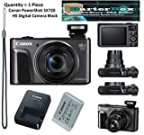 Canon PowerShot SX720 HS 20.3MP Digital Camera 40x Optical Zoom - Black