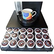 Amazon Lightning Deal 90% claimed: Neat-O Coffee Pod Storage Drawer Holder for 36 Keurig K-Cup, Black
