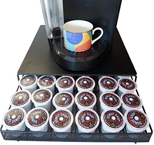 Neat-O Coffee Pod Storage Drawer Holder for 36 Keurig K-Cup, Black