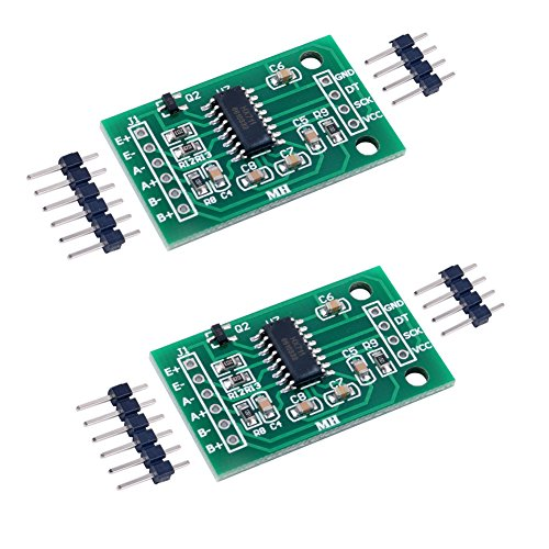 DIYmall 2pcs Hx711 Weight Weighing Load Cell Conversion Module Sensors Ad Module for Arduino Microcontroller