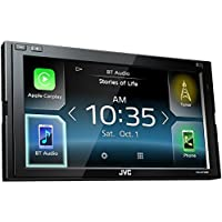 JVC KW-M730BT 6.8' In-Dash Car Bluetooth Receiver Android, Carplay, Dual USB, EQ