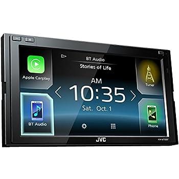 """JVC KW-M730BT 6.8"""" in-Dash Car Bluetooth Receiver Android, Carplay, Dual USB, EQ"""
