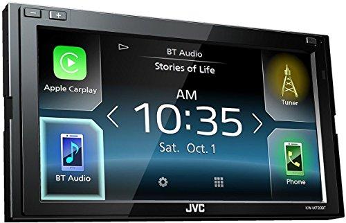 JVC KW-M730BT 6.8'' In-Dash Car Bluetooth Receiver Android, Carplay, Dual USB, EQ by JVC