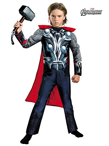Thor Movie Classic Muscle Costume - X-Small (Thor Muscle Toddler Costume)