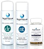 REGENEPURE - DR Shampoo, 8 Ounces + NT Shampoo, 8 Ounces + Biotin Supplement, 90 Capsules