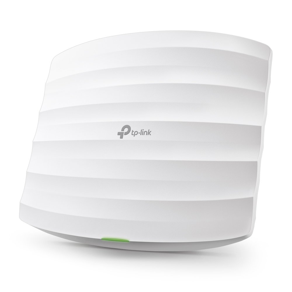 TP-Link EAP225 V3 Wireless MU-MIMO Gigabit Ceiling Mount Access Point, Supports 802.3af PoE and Passive PoE(Injector Included), AC1350 by TP-LINK