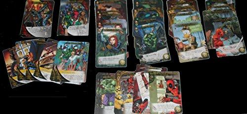 (2015 Marvel Legendary 3D Trading Cards 95-Card Master DBG Play Set)