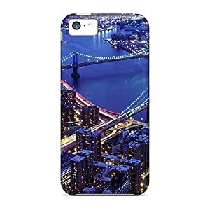 BestSellerWen Fashion Protective New York City At Night Case Cover For Iphone 5 5s