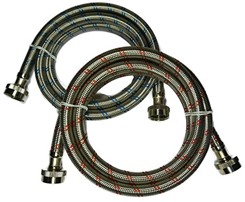 premium-stainless-steel-washing-machine-hoses-6-ft-burst-proof-2-pack-red-and-blue-striped-water-con